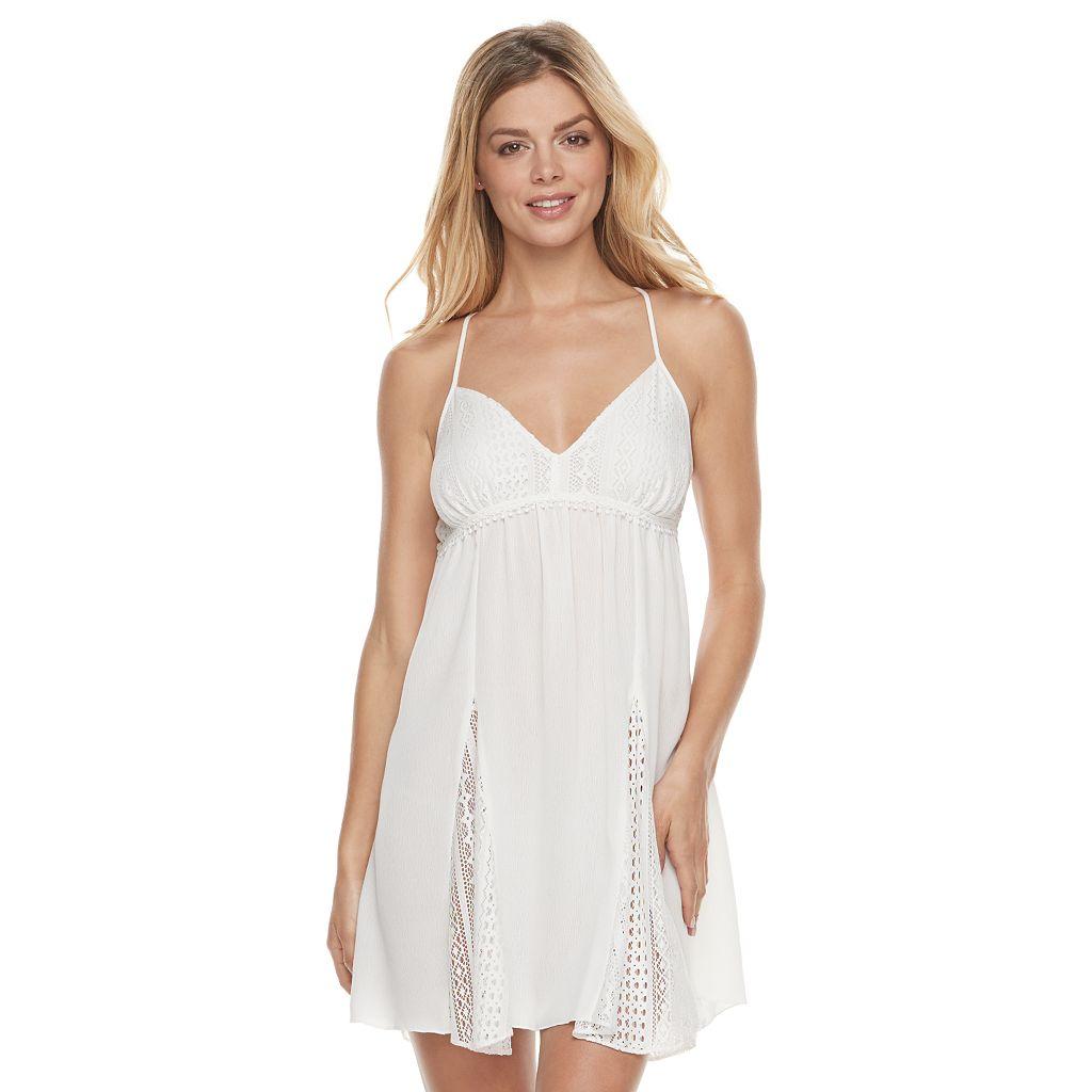 Women's Apt. 9® Bohemian Bride Lace Chemise