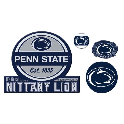 Penn State Nittany Lions Game Day 4-Piece Magnet Set
