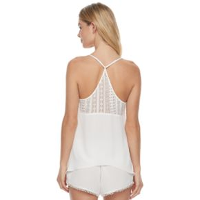 Women's Apt. 9® Bohemian Bride Shorts & Tank Lingerie Set
