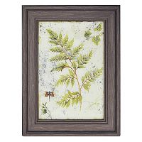 New View Fern Print Framed Wall Art