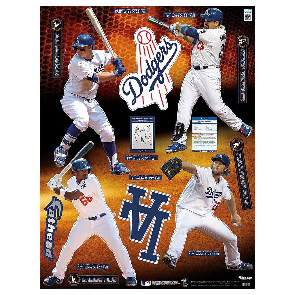 Los Angeles Dodgers Power Pack Wall Decals by Fathead