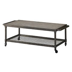 Madison Park Wire Mesh Coffee Table
