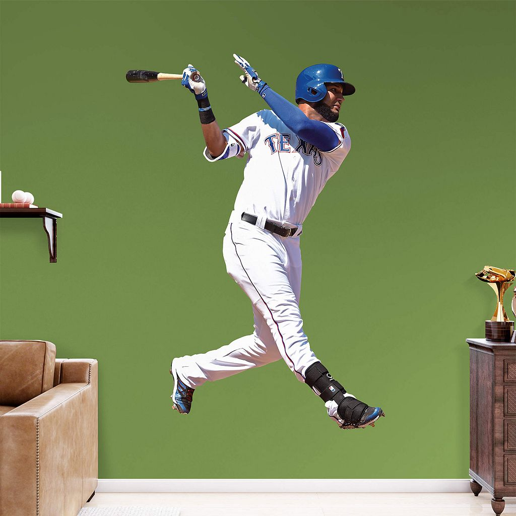 Texas Rangers Nomar Mazara Wall Decal by Fathead