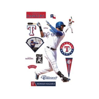 Texas Rangers Nomar Mazara Wall Decal by Fathead