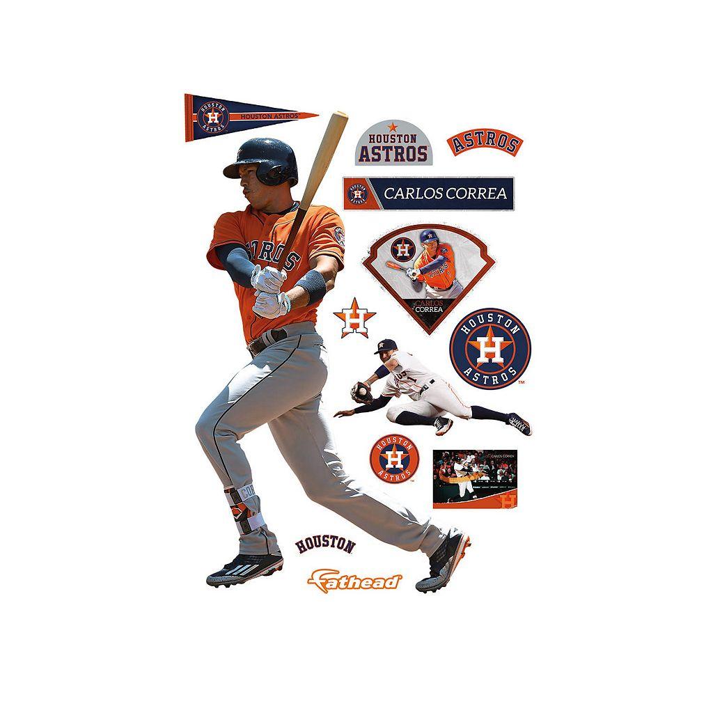 Houston Astros Carlos Correa Wall Decal by Fathead