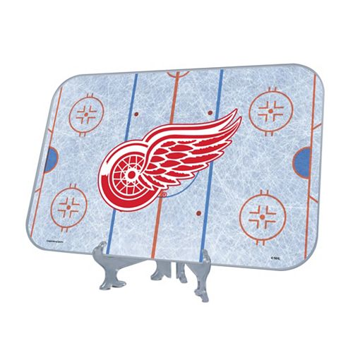 uk availability cfefe d02c1 Detroit Red Wings Replica Hockey Rink Display