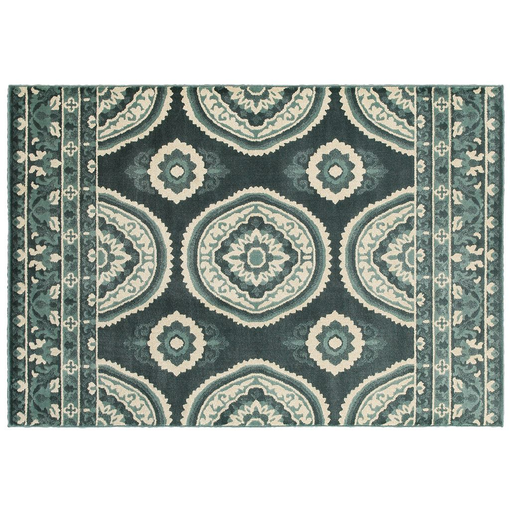 StyleHaven Juliet New Traditions Medallion Rug