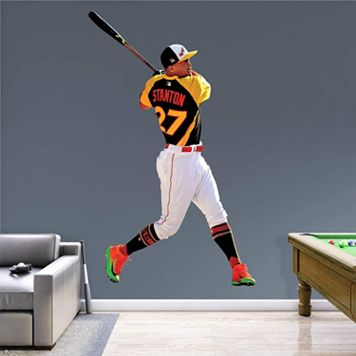 Miami Marlins Giancarlo Stanton Home Run Derby Wall Decal by Fathead