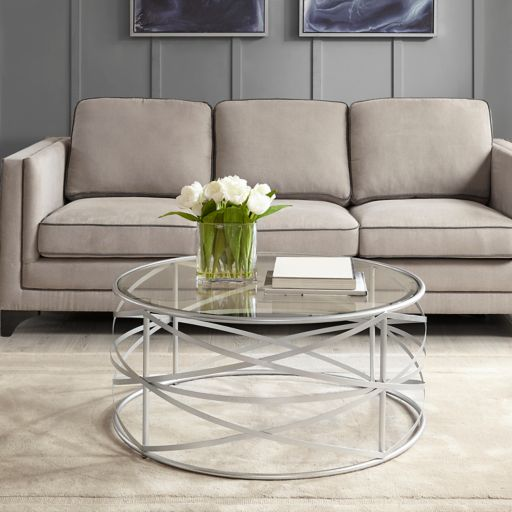 Madison Park Gold Finish Coffee Table