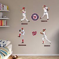 Washington Nationals Power Pack Wall Decals by Fathead