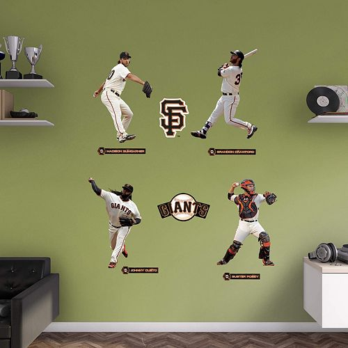 San Francisco Giants Power Pack Wall Decals by Fathead