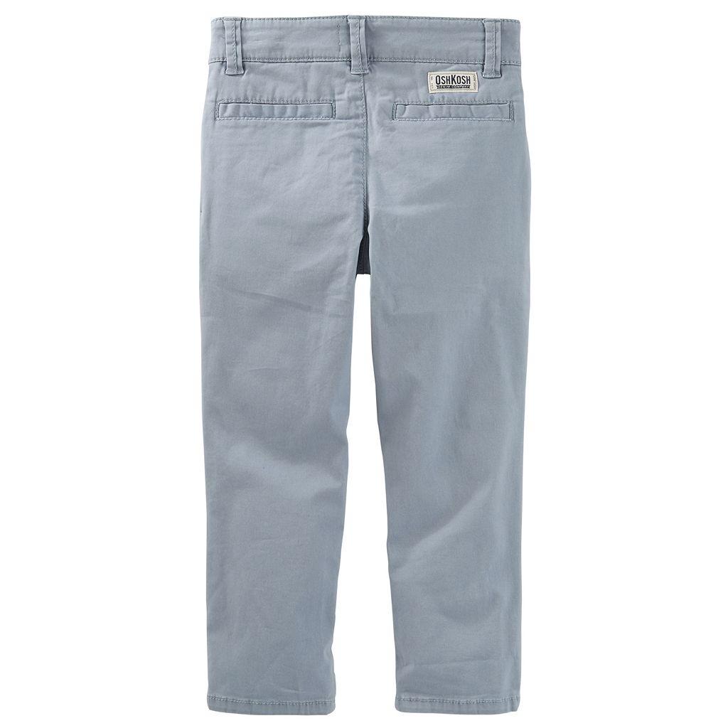 Toddler Boy OshKosh B'gosh® Stretch Twill Pants