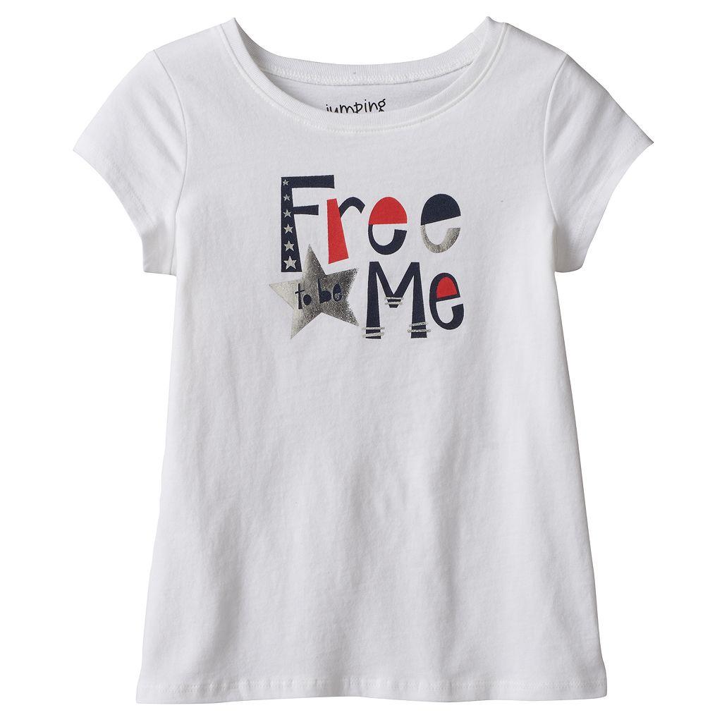 Girls 4-10 Jumping Beans® Short Sleeve