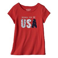 Girls 4-10 Jumping Beans® Short Sleeve
