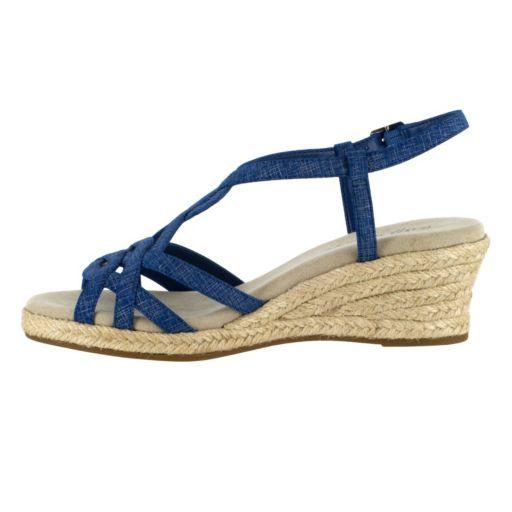Easy Street Ryanne Women's Wedge Sandals
