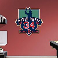 Boston Red Sox David Ortiz Final Season Wall Decal by Fathead