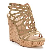 Style Charles by Charles David Apple Women's Wedge Sandals