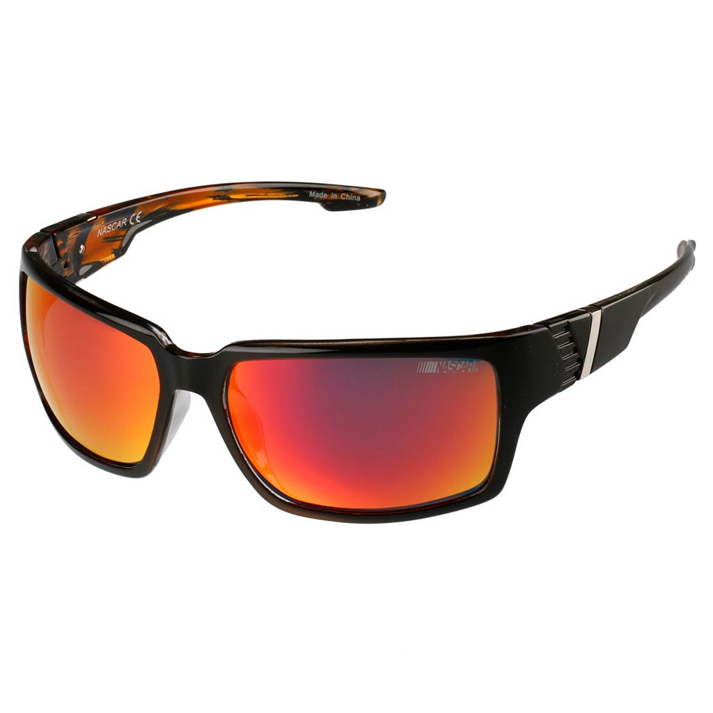 Men's NASCAR Polarized Wrap Sunglasses