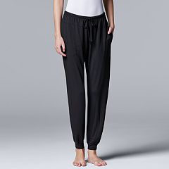 Women's Simply Vera Vera Wang Basic Luxuries Jogger Pants