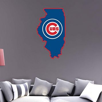 Chicago Cubs State Wall Decals by Fathead