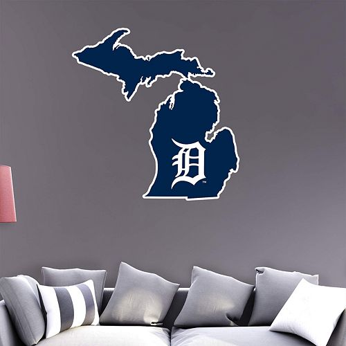 Detroit Tigers State Wall Decals by Fathead