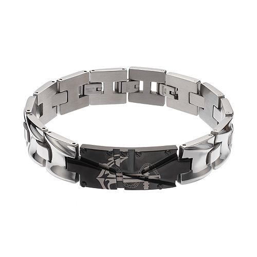 FOCUS FOR MEN Stainless Steel Anchor Bracelet