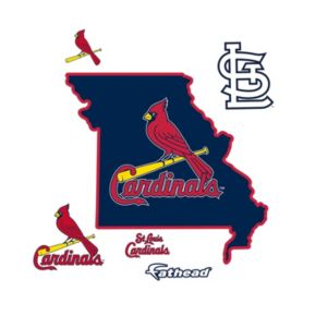 St. Louis Cardinals State Wall Decals by Fathead