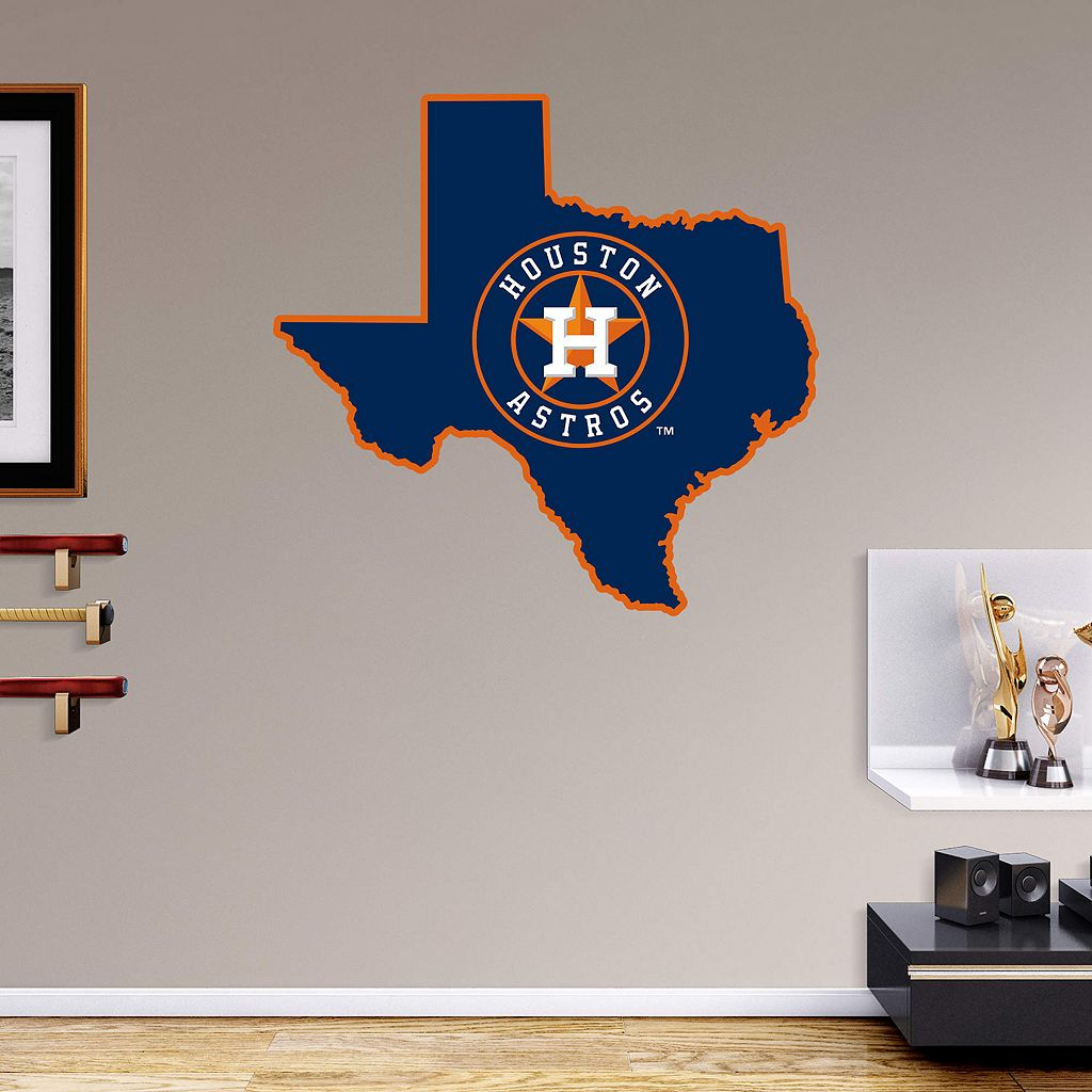 Houston Astros State Wall Decals by Fathead