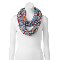 Chaps Artistic Paisley Infinity Scarf
