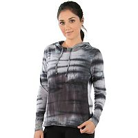 Women's Balance Collection Envelope Back Tie Dye Hoodie