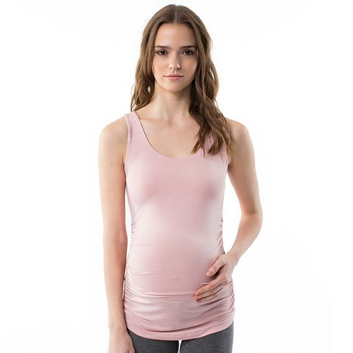 Maternity Pip & Vine by Rosie Pope Ruched Tank
