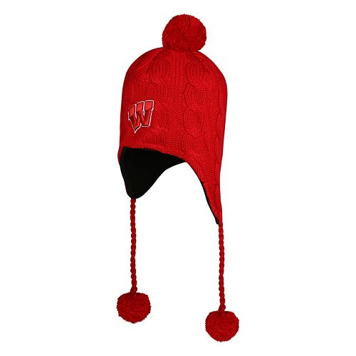 Adult Top of the World Wisconsin Badgers Supercell Knit Hat a0ae82a3f69e