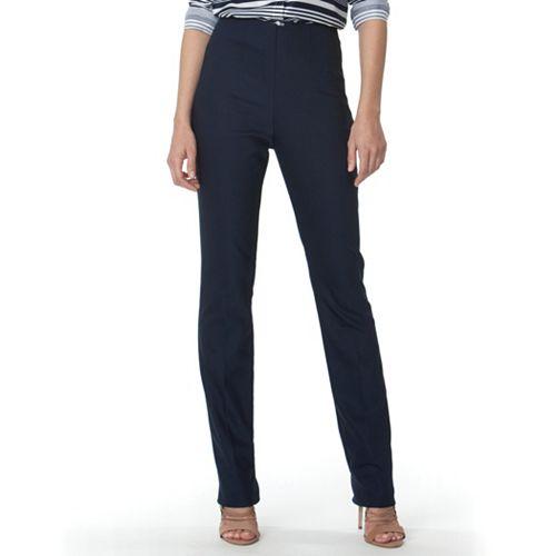 Women's Chaps Solid Skinny Pants