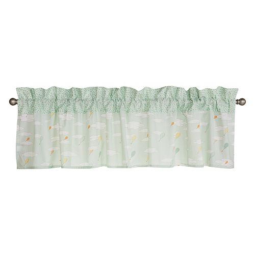 """Dr. Seuss """"Oh, the Places You'll Go!"""" Mint Window Valance by Trend Lab"""