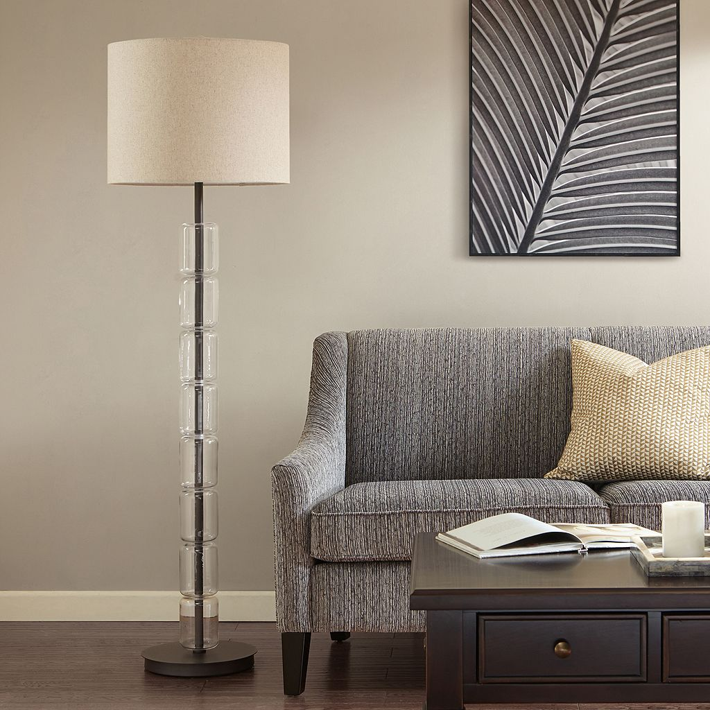 Madison Park Signature Francis Glass Floor Lamp