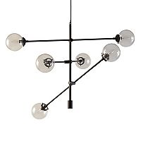 INK+IVY 6-Light Modern Glass Chandelier