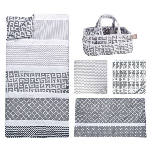 Trend Lab Ombre Grey 5-pc. Crib Bedding Set