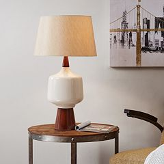 INK+IVY Two-Tone Table Lamp