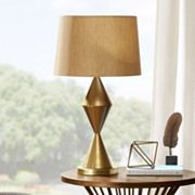 INK+IVY Contemporary Gold Finish Table Lamp