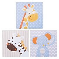 Trend Lab Jungle Fun Wall Art 3-piece Set
