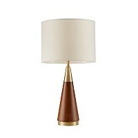 INK+IVY Two-Tone Mid-Century Modern Table lamp