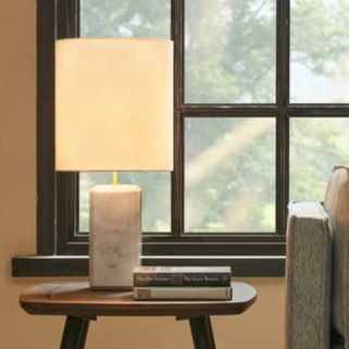 INK+IVY Modern Marble Table lamp