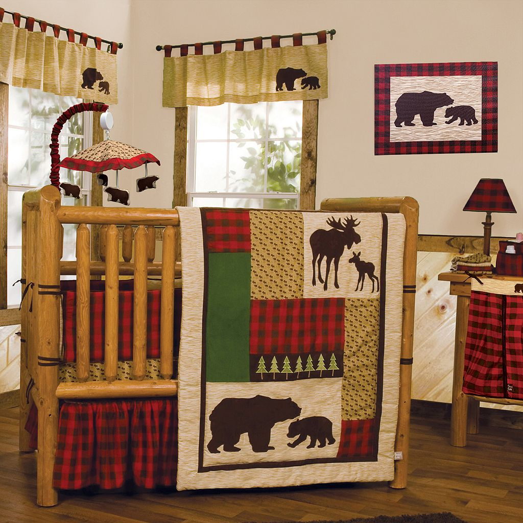 Trend Lab Northwoods Bear Wall Art
