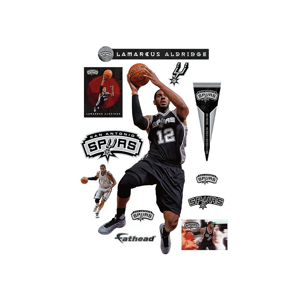 San Antonio Spurs LaMarcus Aldrige Wall Decal by Fathead