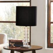 Madison Park Signature Modern Black Table Lamp