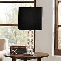 Madison Park Signature Modern Black Table Lamp