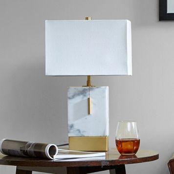 Madison Park Signature Small Mid-Century Modern Table Lamp
