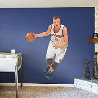 New York Knicks Kristaps Porzingis Wall Decal by Fathead