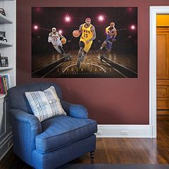 Cleveland Cavaliers LeBron James Montage Wall Decal by Fathead