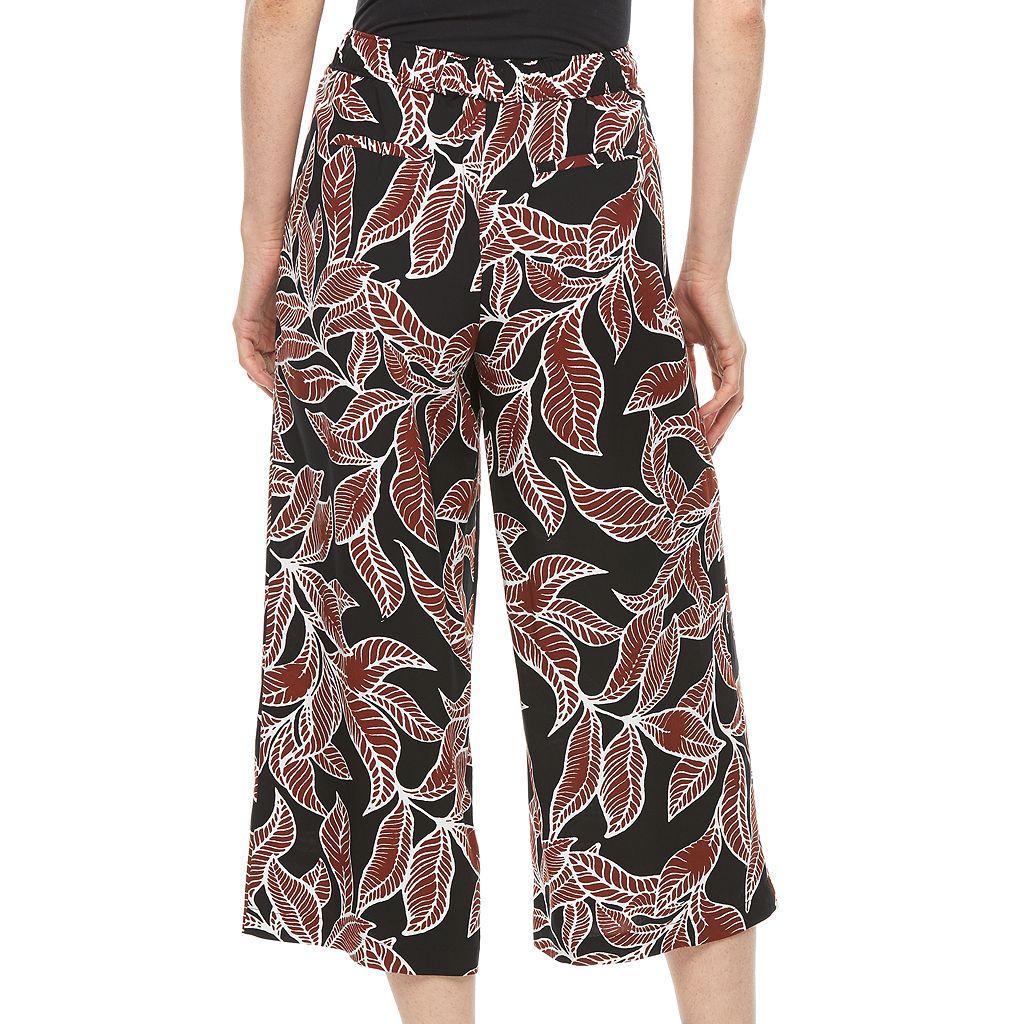 Women's Apt. 9® Print Culottes